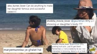 Gauri Khan Shares Suhana's Bikini Picture, Gets Trolled Online! Shah Rukh Khan Fans Shut Shamers Down