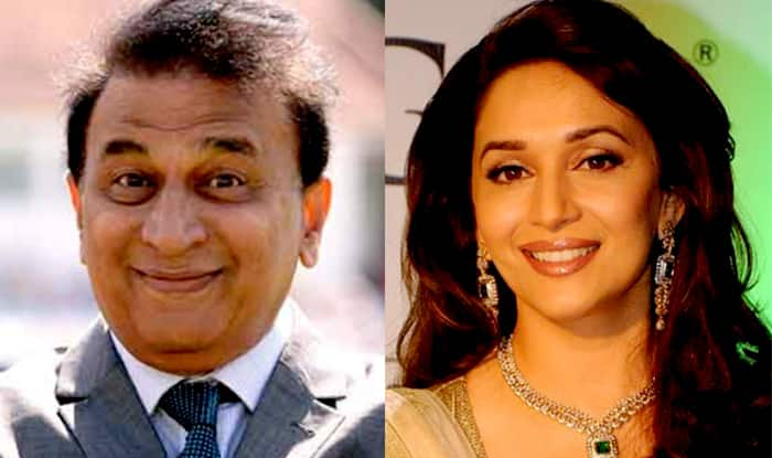 Madhuri Dixit Was Once Madly In Love With Sunil Gavaskar?