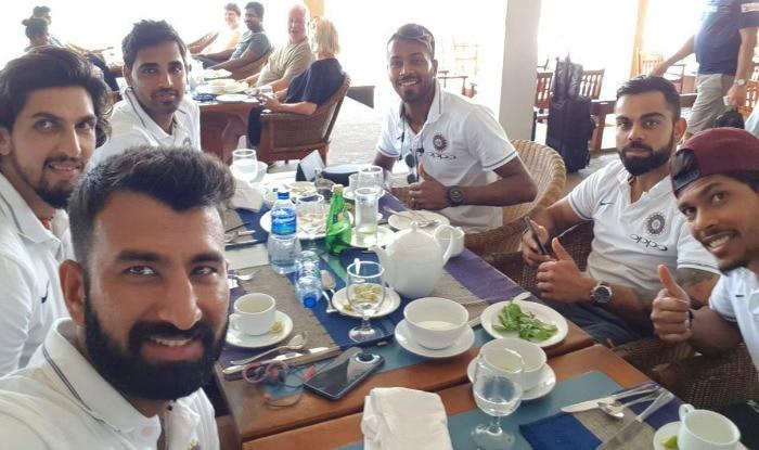 Sri Lanka Tour Of India  Team