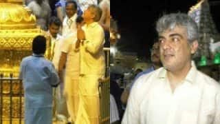 Thala Ajith Visits Tirupathi Before Vivegam's Release; Surprises Fans With His Gesture