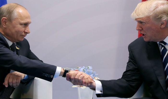 Trump bumped into Putin in Vietnam.(File image)