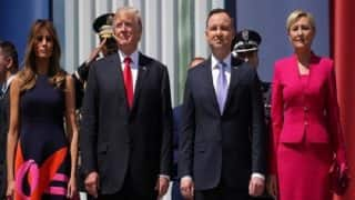 Polish President Clears Air on His Wife 'Snubbing' Handshake With Donald Trump