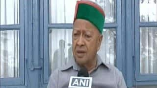 इलेक्शन से पहले हिमाचल कांग्रेस में बगावत का शोरः CM वीरभद्र ने हाईकमान पर बोला हमला