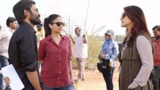 VIP 2 behind the scenes: Check out these amazing stills from Dhanush-Kajol starrer
