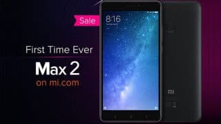Xiaomi 3rd Mi Anniversary Sale: Mi Max 2 on Sale for the First Time in India, Redmi Note 4, Redmi 4A at Re 1, and More Offers