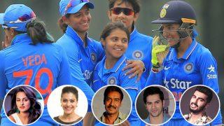 Women's World Cup 2017: Arjun Kapoor, Ajay Devgn, Varun Dhawan, Sonakshi Sinha And Other Bollywood Stars Cheer For Team India