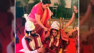 The First Pics Of Riya Sen And Shivam Tewari's Hush Hush Wedding Are FINALLY OUT