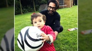 Shahid Kapoor Playing With Daughter Misha Will Surely Drive Your Monday Blues Away