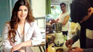 Twinkle Khanna Shares Adorable Picture Of Akshay Kumar And Son Aarav Making Souffle For Dessert!