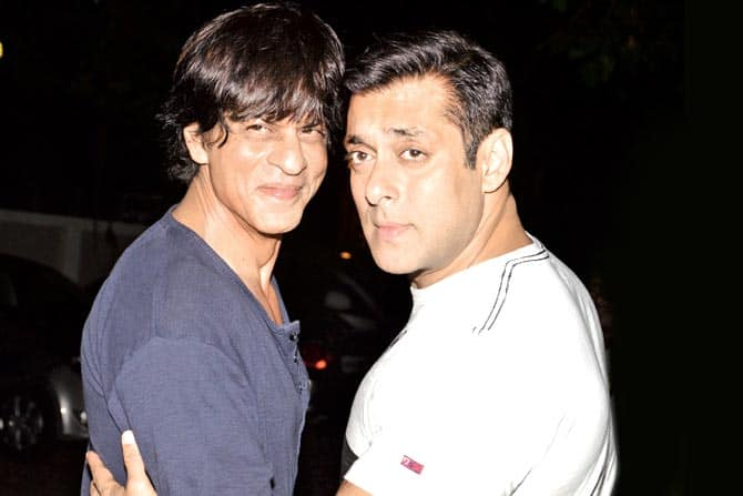 Shah Rukh Khan to follow Salman Khan's footsteps?