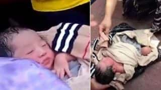 Chinese Mother Wraps Baby In Plastic, Tries To Courier Newborn To Orphanage