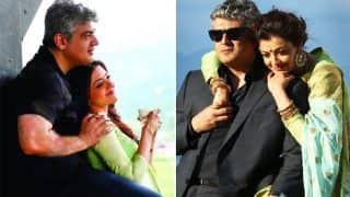 Vivegam star Thala Ajith Clicked A Gorgeous, Candid Picture Of Kajal Aggarwal And You Cannot Miss It!
