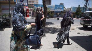 नाम के बदले 'सुनती हो' कहने के खिलाफ अफगानी महिलाओं ने उठाई आवाज