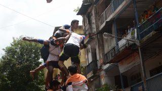 Live update: चक्रधारी मोहन के रंग में मुंबई, दही हांडी में जुटे गोविंदा