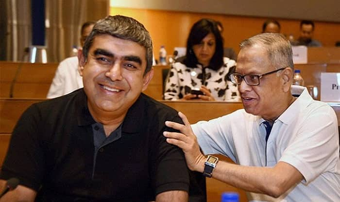 Fed up with sniping Infosys chief steps down