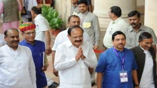 Venkaiah Naidu Takes Oath as New Vice President