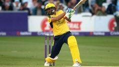 Shahid Afridi Scores 42-Ball Century in NatWest T20 Blast