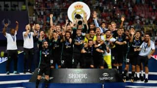 Real Madrid Beat Manchester United 2-1 to Win Their Fourth UEFA Super Cup Title