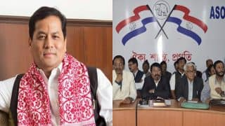 Sarbananda Sonowal-led Assam Government Expansion: AGP Expects to Gain 2 More Slots