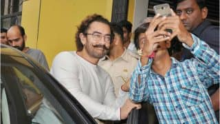 Aamir Khan Is Back In Action After Recovering From Swine Flu! See Photos