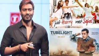 Here's What Ajay Devgn Has To Say On The Failure Of Shah Rukh Khan's Jab Harry Met Sejal And Salman Khan's Tubelight
