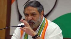 Regretting Error: Congress MP Anand Sharma Clarifies After Praising PM Modi's Visit to Vaccine Facilities