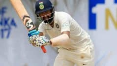 Pujara Stands Tall in Tough Conditions in Kolkata