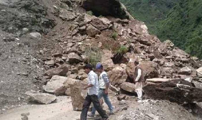 Landslide in Uttarakhand