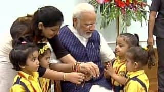 Raksha Bandhan in Photos: How Politicians Celebrated The Day