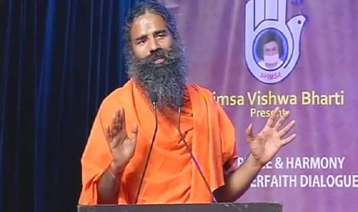 Baba Ramdev at World Peace & Harmony Conclave in Mumbai