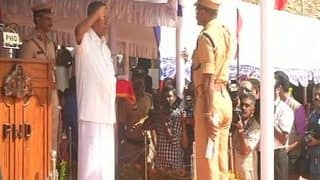 Kerala Chief Minister Pinarayi Vijayan Celebrates Independence Day in Thiruvananthapuram