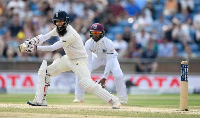 England v West Indies: Shai Hope guides tourists to thrilling Test victory