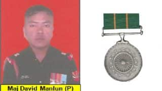 David Manlun Awarded Kirti Chakra Posthumously, Know About His Sacrifice