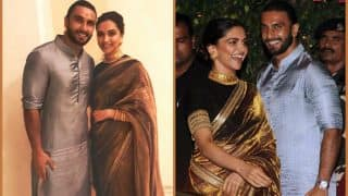 These Unseen Videos And Pictures Of Ranveer Singh And Deepika Padukone From Ambani's Ganeshotsav Prove They Are Inseparable