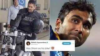 MS Dhoni Fan Trolled by Mahela Jayawardene for Unnecessary Comparison of Former Indian Captain to Usain Bolt