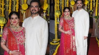 Esha Deol Looks Stunning As She Gets Ready To Get Hitched Yet Again On Her Baby Shower - View HQ Pics