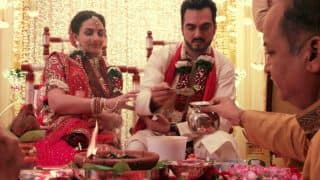 Esha Deol Baby Shower Ceremony Video: Watch Traditional Sindhi Godh-Bharai Ceremony Of The Mom-To-Be!