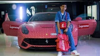 Rich Dubai Teen Wraps His Ferrari in Supreme X Louis Vuitton: Rashed Belhasa Can't Even Legally Drive