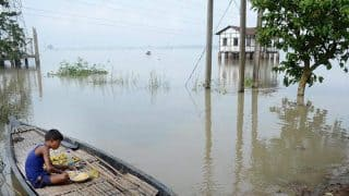 Relief Camps Set up in Assam to Assist People Affected by Floods