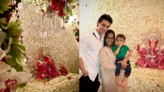 Here Are Unseen Pictures Of Ganpati Celebrations From Arpita Khan Sharma's Residence