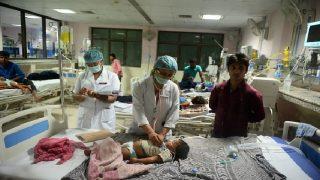 Gorakhpur Hospital Tragedy: Death Toll Crosses 70; CM Yogi Adityanath, JP Nadda Visit BRD Medical College