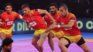 Gujarat Fortunegiants Beat U Mumba 45-23 in One-Sided Clash