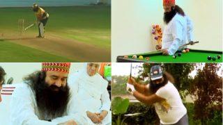 Is Gurmeet Ram Rahim Singh a Super Human? Watch Video of Dera Sacha Sauda Leader & Godman Playing Sports