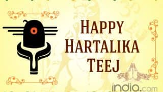 Hartalika Teej 2019 Wishes: Best Happy Teej Messages, Quotes, WhatsApp GIF & Greetings