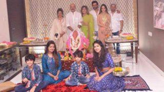 Ganesh Chaturthi 2017: Hrithik's Ex-Wife Sussanne Khan Joins The Roshan Family For Celebrations