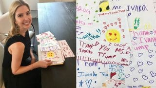 Ivanka Trump Gets Trolled For Posting Pictures of Fan Mail From Children on Social Media