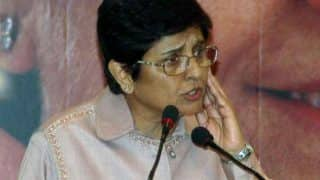 Kiran Bedi Carries Out Road Surprise Midnight Inspection on Puducherry Roads, Finds no Police