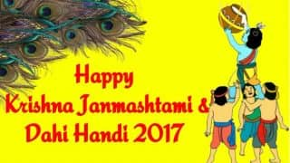 Dahi Handi Wishes in Marathi: Wish Happy Krishna Janmashtami 2017 with Best Quotes and Hindi Shayaris