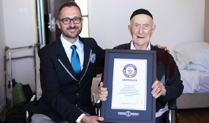 Yisrael Kristal passed away just a month short of his 114th birthday (Guinness World Records)