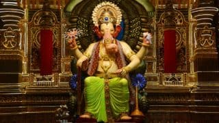 Lalbaugcha Raja 2017 LIVE Mukh Darshan Timings: Watch Live Telecast & Streaming from Lalbaughcha Raja Pandal Mumbai